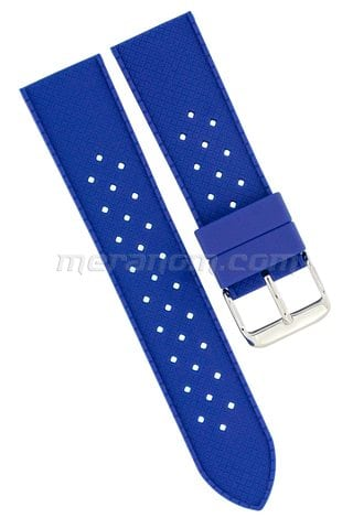 Silicon Strap Anti Dust 22mm Blue 281