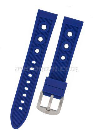 Silicon Strap Anti Dust 20mm Blue