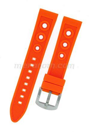 Silicon Strap Anti Dust 20mm orange
