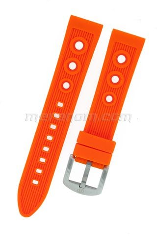 Silicon Strap Anti Dust 20mm orange