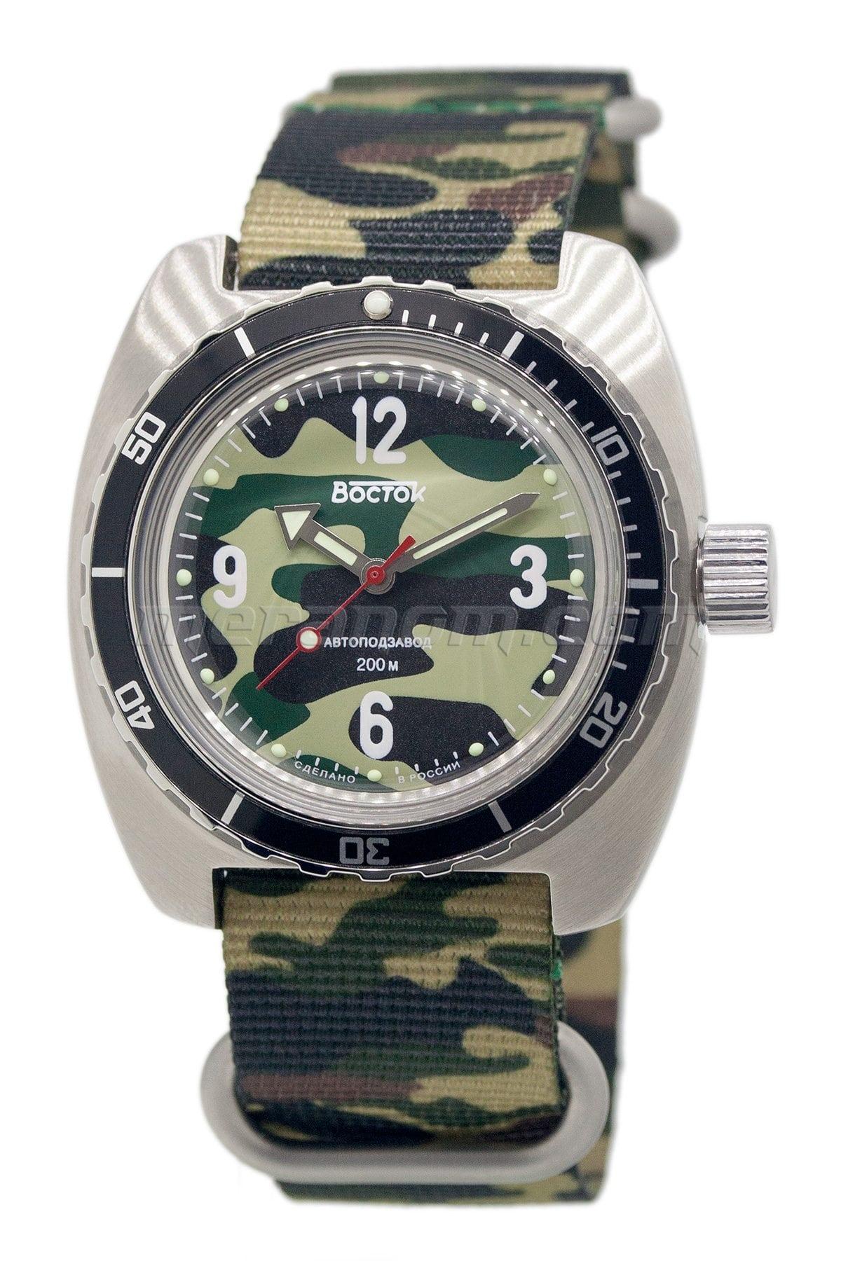 Vostok Relojes Amphibian Se 150b30 Compra A Un