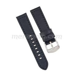 Leather strap 1967 22mm black