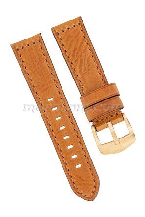 Ремешок 1967 коричневый кожаный 22 мм