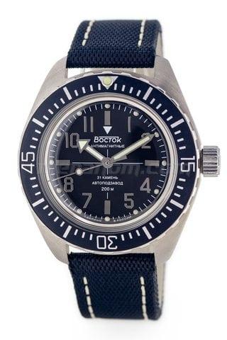 Vostok Watch Amphibian SE 020B38 nylon strap