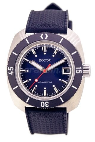 Vostok(Wostok) Uhr Amphibian SE 710B45S Icebreacker Blue