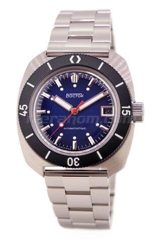 Vostok Watch Amphibian SE 710B45B Icebreacker Blue