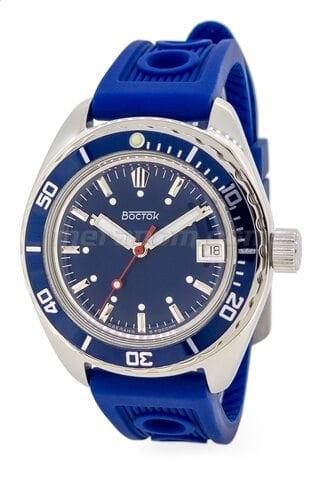 Vostok(Wostok) Uhr Amphibian SE 020B50 Icebreacker Blue