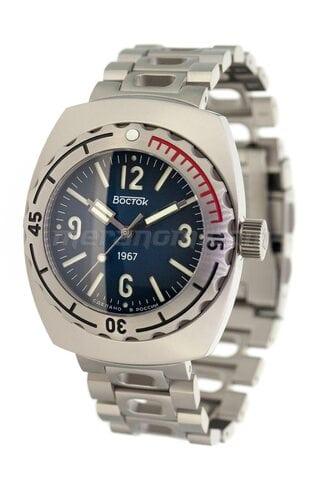 Vostok relojes Amphibia 1967 190B56 Titanium