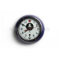 Schiff-Clock 5-ChM U-Boot-blau