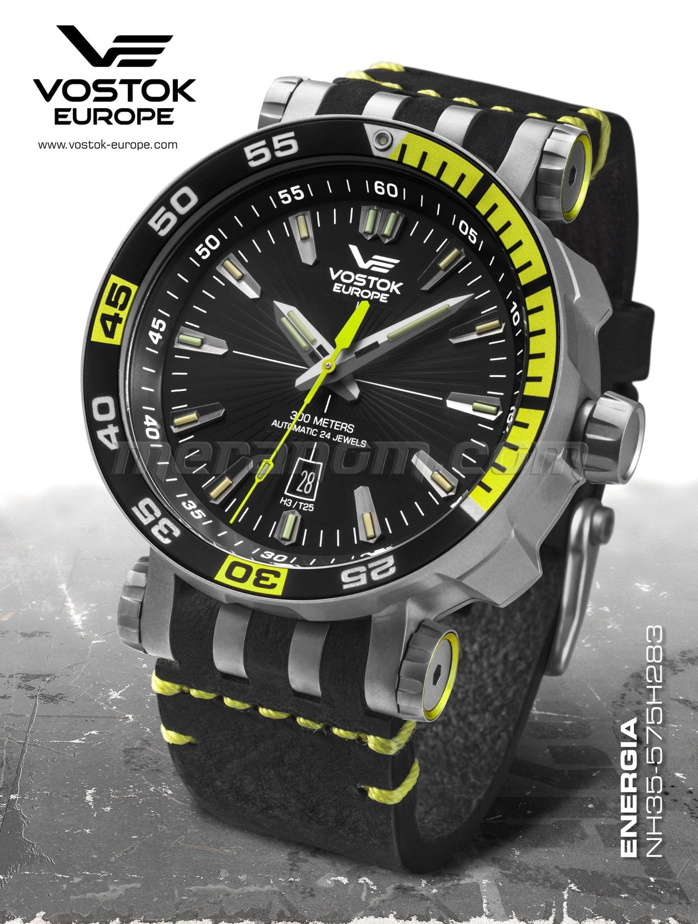 a566bc27b509 Vostok Europe relojes Vostok Europe Energia NH35A 575H283 compra a ...