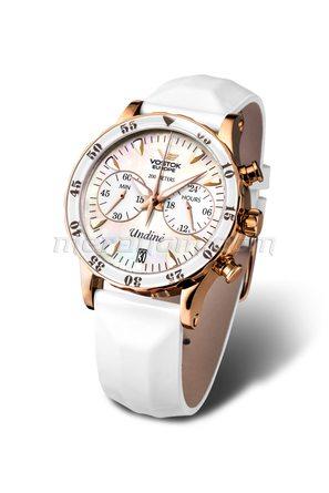 Ladies Watch Undine with 3 Straps White VK64-515B528
