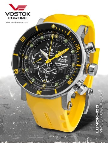 Vostok Europe watch Lunokhod YM86/620A505