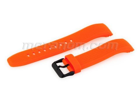 Vostok Watch Amfibia Turbina Orange PU Strap