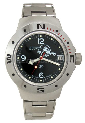 Vostok(Wostok) Uhr Amphibian Klassik 060634