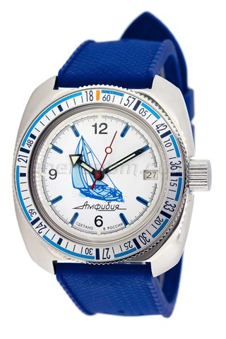 Vostok relojes Amphibian Classic 710615 Baikal white