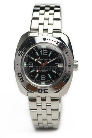 Vostok relojes  Amphibian Clásico 710640