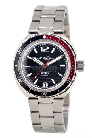 Vostok Watch Amphibian Classic 960760B with solid bracelet