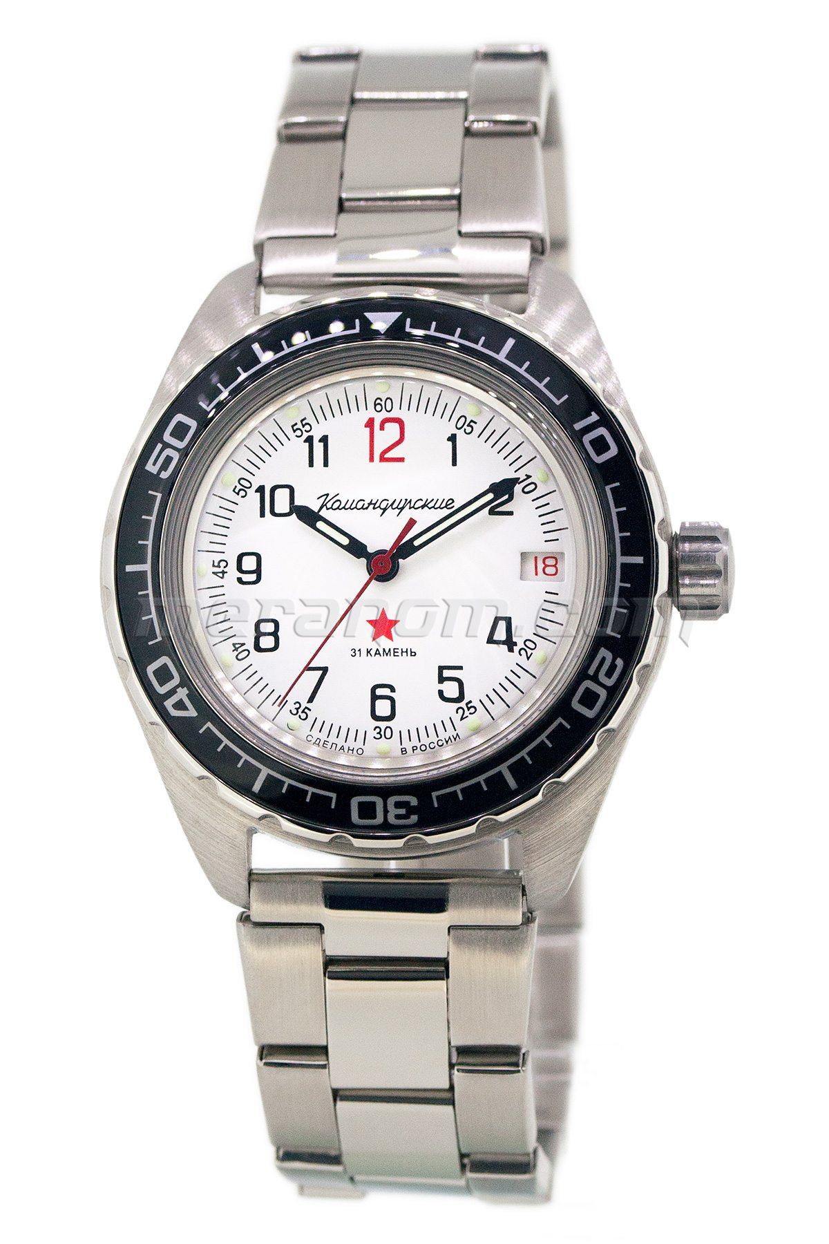 Vostok watch komandirskie 020712 buy from an authorized dealer for Komandirskie watches