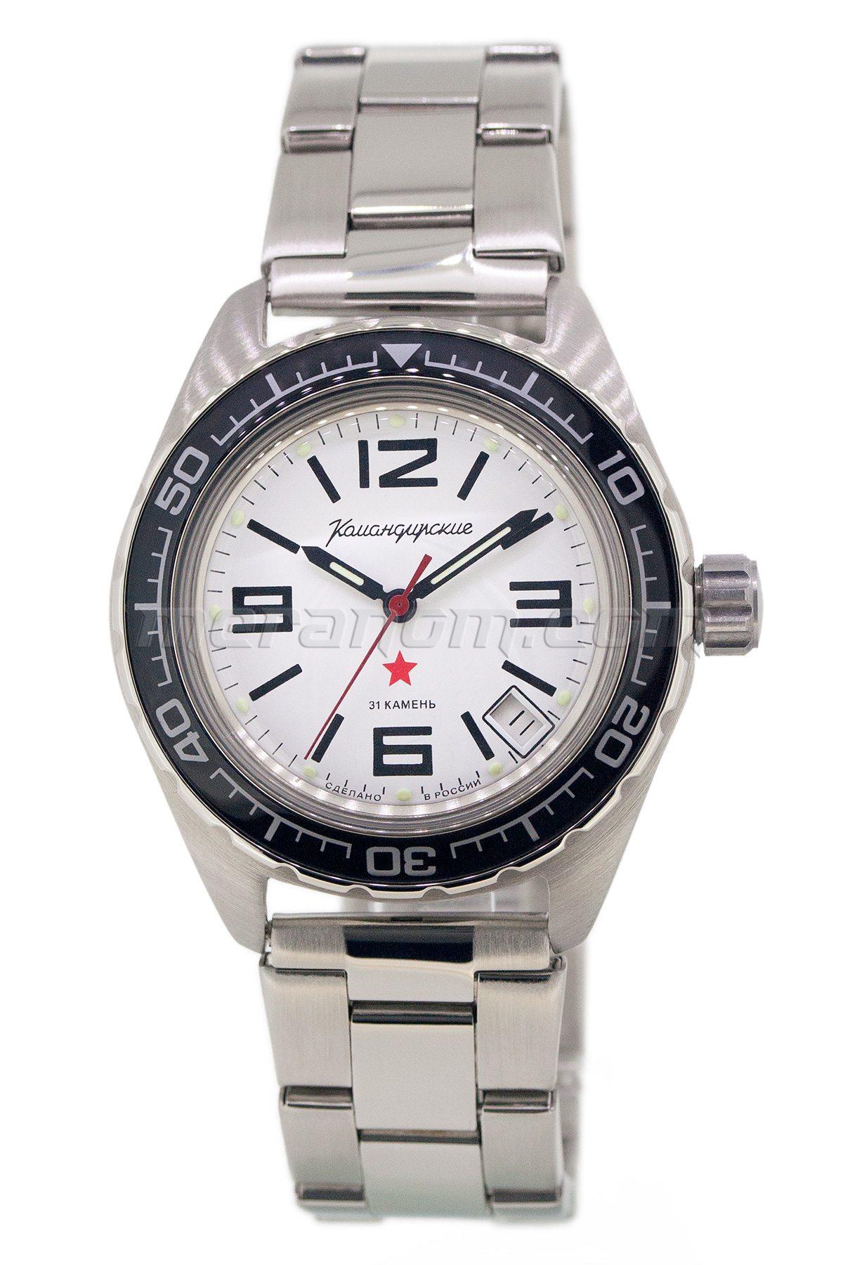 Vostok watch komandirskie 020716 buy from an authorized dealer for Komandirskie watches