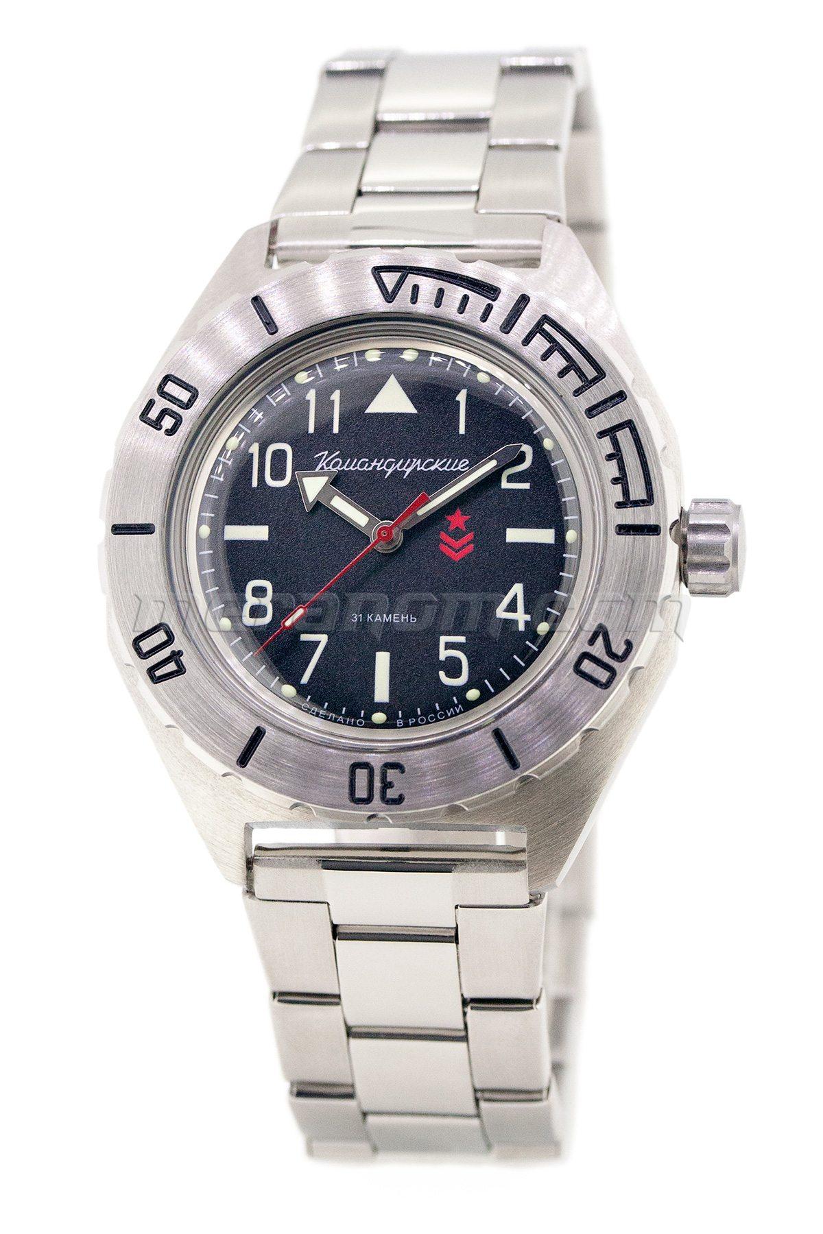 Vostok watch komandirskie 650540 buy from an authorized dealer for Komandirskie watches